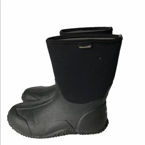 Bogs Black Classic Mid Rubber Boots 11